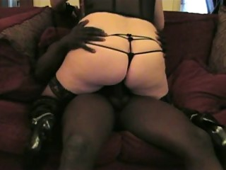My wife loves young black cock