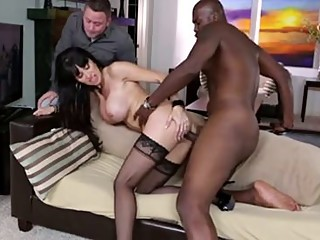 Cuckold wit a black bull.