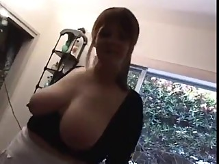 Chubby wife gets bbc. Hubby cleans up after